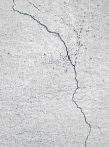 cracked foundation wall